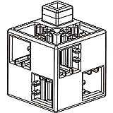 アーテック (Artec) アーテックブロック ブロック単品 基本四角 白 100ピース 077858
