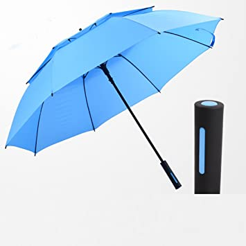 Paraguas Grande – Super Grande Super Resistente, Paraguas 2 – 3 personas Lluvia automático,