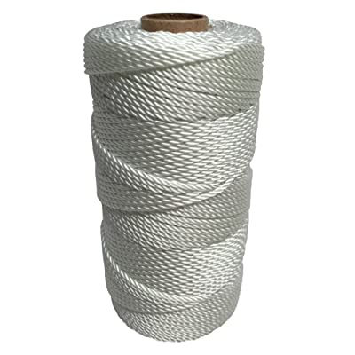 SGT KNOTS Twisted Nylon Seine Twine #36 100% Nylon Fiber- High Tensile Strength & Versatile Utility Twine - Crafting, Camping, Boating, Mason Line, Fishing, Hunting, Survival, Marine (541 ft): Home Improvement