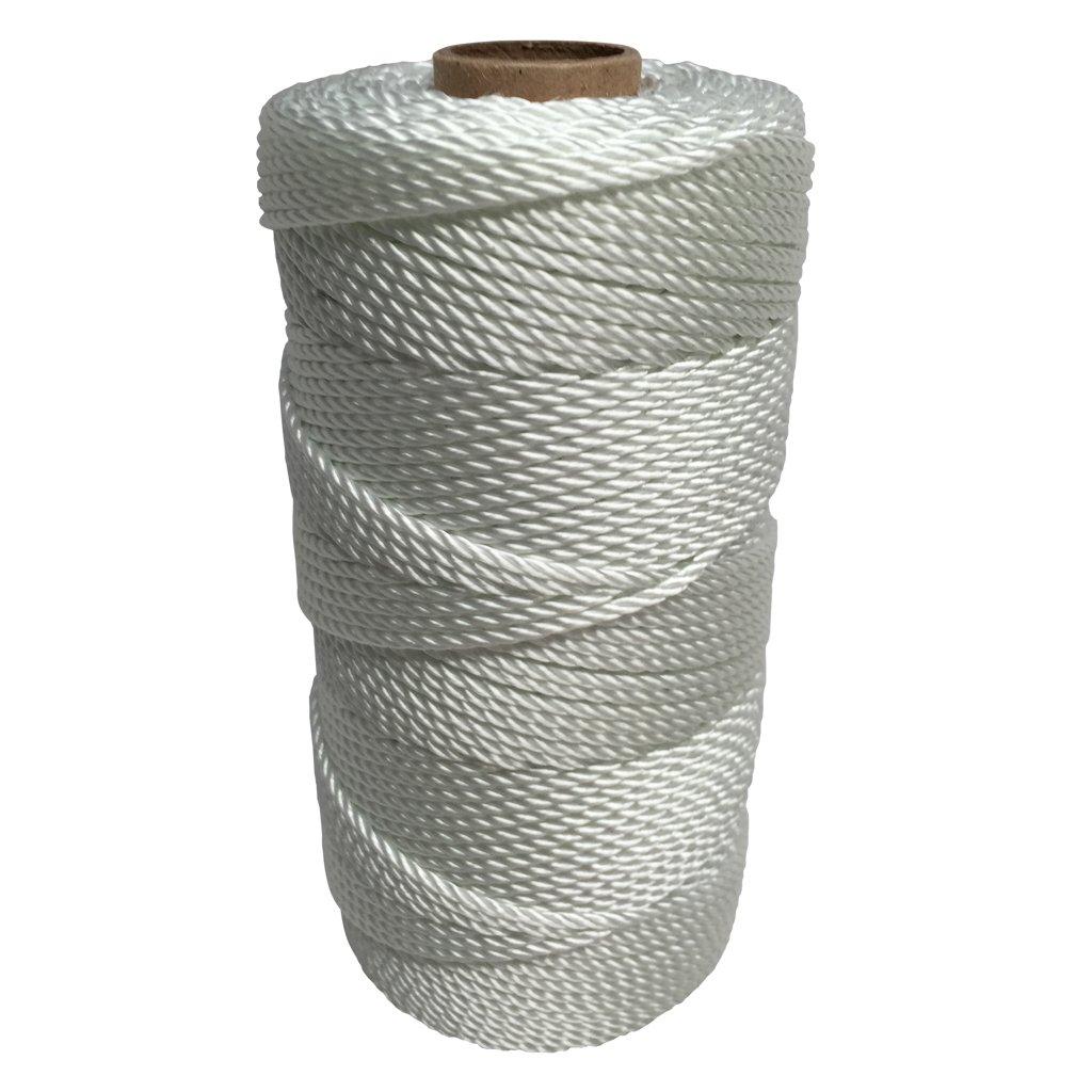 SGT KNOTS Twisted Nylon Seine Twine #36 100% Nylon Fiber- High Tensile Strength & Versatile Utility Twine - Crafting, Camping, Boating, Mason Line, Fishing, Hunting, Survival, Marine (541 ft)