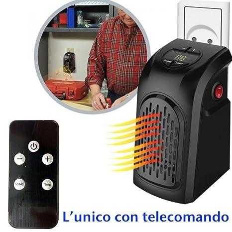 DOBO® Mini stufa portatile da casa ventola presa elettrica ...