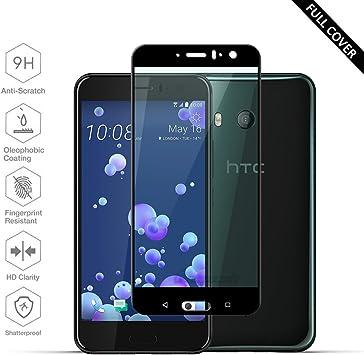 Protectores de Pantalla HTC U11[Versión mejorada perfecta], Beyeah ...