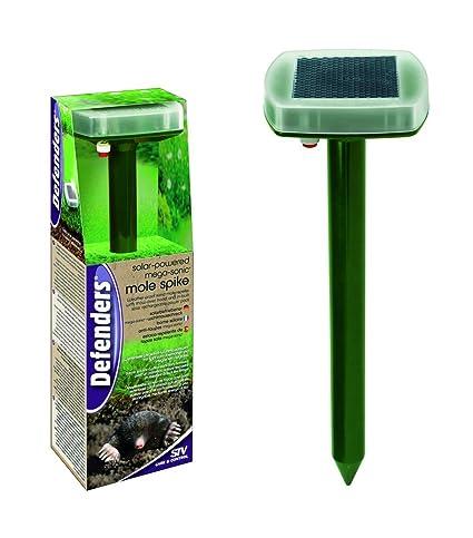 Amazon.com: Mega Sonic Solar Topo Spike: Jardín y Exteriores