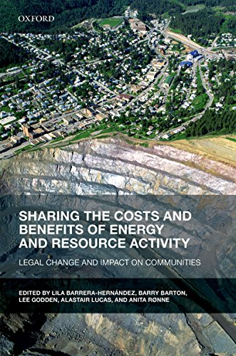 Sharing the Costs and Benefits of Drive and Resource Activity: Legal Change and Impact on Communities