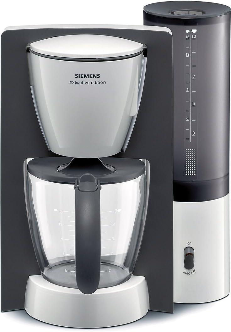 Siemens TC60301 - Cafetera de goteo, 1100 W, color blanco: Amazon ...