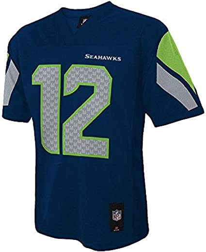 Outerstuff Seattle Seahawks Youth 12th Man Navy Jersey