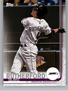 2019 Topps Pro Debut #123 Blake Rutherford RC Rookie Winston-Salem Dash MLB Baseball Trading Card