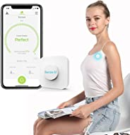 Sense-U Clip4: 4rd Gen Wearable Posture Trainer that Vibrates when You Slouch, for Better Posture. A Posture Corrector to Imp
