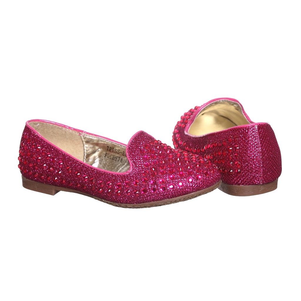 shoewhatever Cute Ballerina Flats for Girls swekbfstis140001