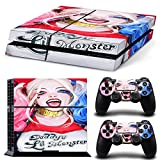 GoldenDeal PS4 Console and DualShock 4 Controller Skin Set – Super Hero – PlayStation 4 Vinyl Review
