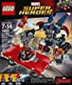 LEGO Super Heroes Iron Man: Detroit Steel Strikes 76077 Building Kit (377 Pieces) from LEGO