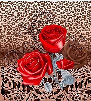 Regal Confort Poids Lourds Polyester Couverture Fleur Wild Rose