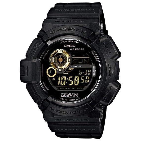 Casio G9300GB1 - Reloj de hombre de cuarzo negro: Casio: Amazon.es: Relojes