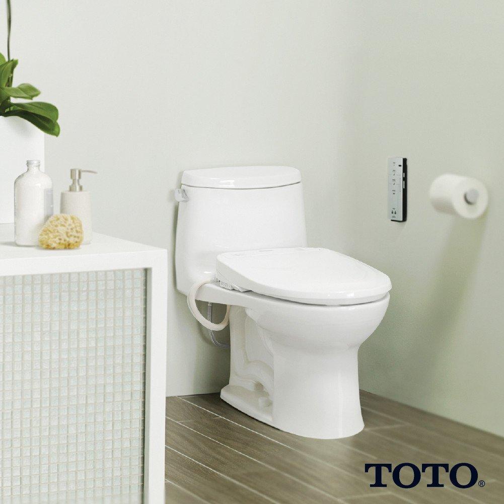Amazon.com: TOTO SW573#01 S300e WASHLET Electronic Bidet Toilet Seat ...