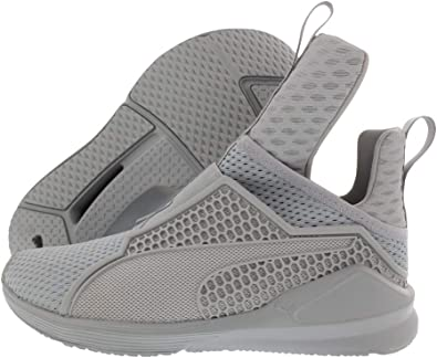 PUMA Women's Fenty Trainer Ankle-High Fabric Fashion Sneaker