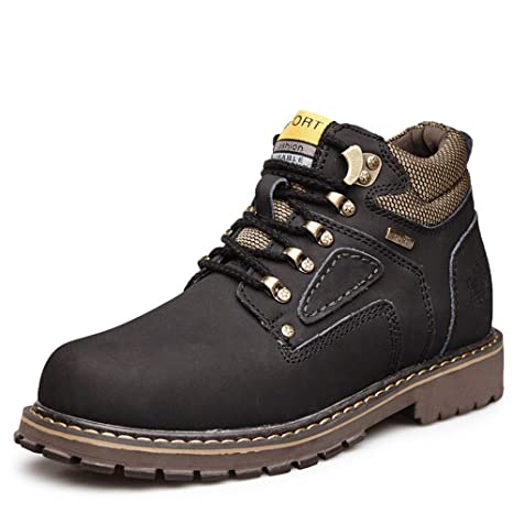 Dundun-boots 2018 Botas New Coming, Botines clásicos Ocasionales de los Hombres Alrededor de