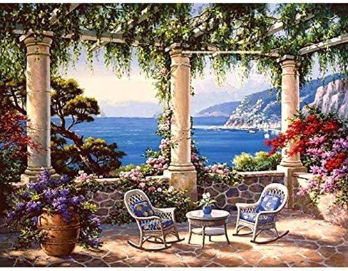 zxddzl Pintura de paisajes con Pinturas artísticas acrílicas ...