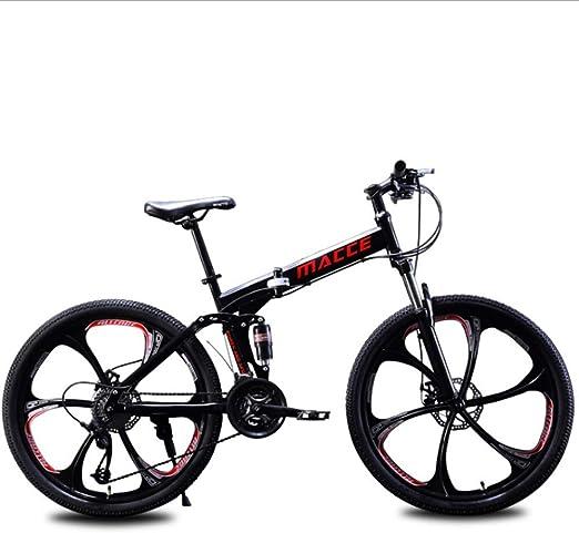 A&ZMYOU 24 Pulgadas / 26 Pulgadas Bicicleta de montaña Bicicleta ...