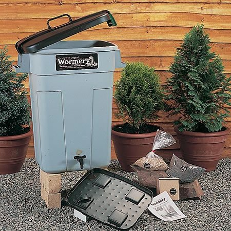 the original wormery classic worm composter compost bin