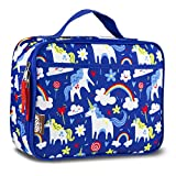 LONECONE Kids' Insulated Fabric Lunchbox - Cute Patterns for Boys and Girls, Gary the Unicorn