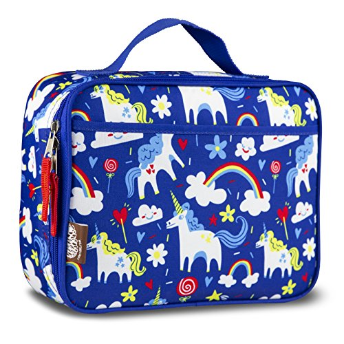 LONECONE Kids Insulated Fabric Lunchbox - Cute Patterns for Boys and Girls, Gary the Unicorn