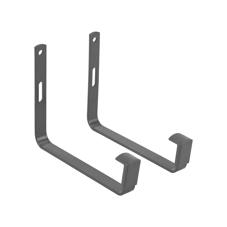 Elho green basics wall bracket metal accessory - anthracite 6981301642500