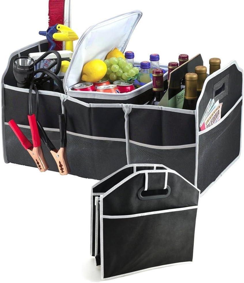 zusammenklappbar faltbar Aufbewahrung onemoret 2-in-1-Kofferraum Organizer Shoppingtasche