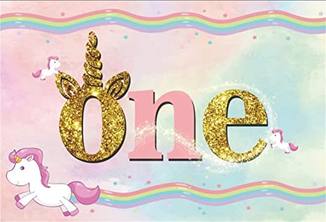 amazon com aofoto 8x6ft happy 1st birthday background girl oneaofoto 8x6ft happy 1st birthday background girl one year old party decoration photography backdrop cartoon cute
