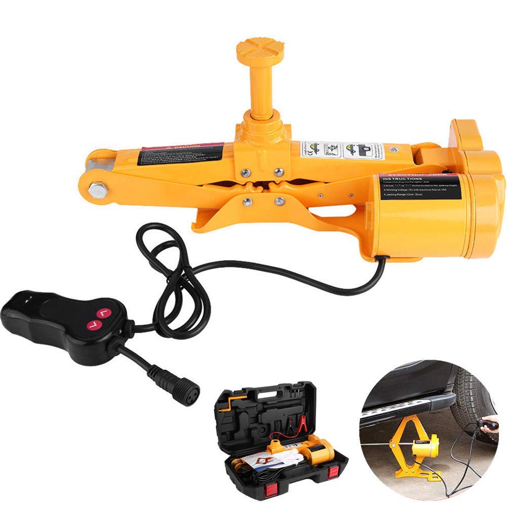 Yjkegjvdgf Electric Jack 12V DC 2T Automatic Electric Jack Scissor Jack (Color : -, Size : -)