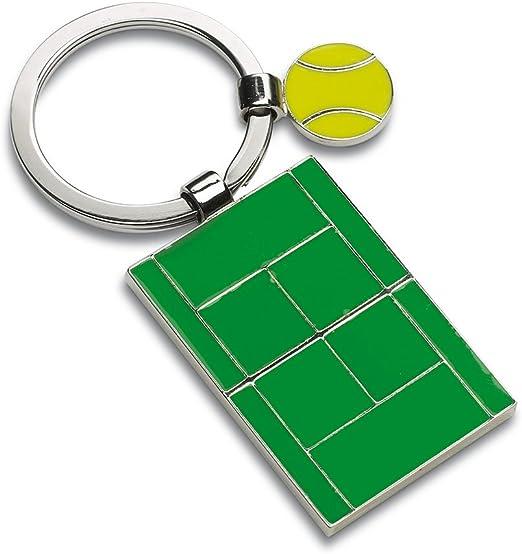 Pelota de tenis y cancha de llavero: Amazon.es: Hogar