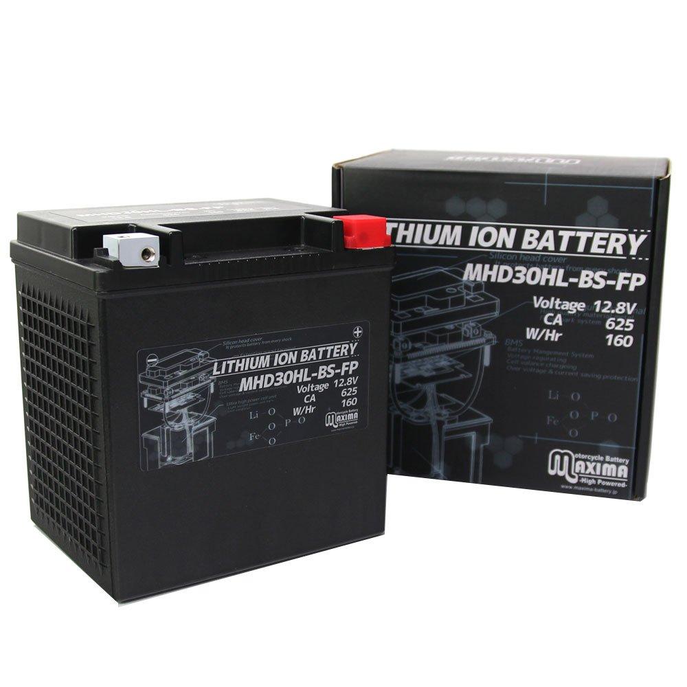 マキシマリチウムイオンバッテリー MHD30HL-BS-FP ロードサービス付き バイク用 30L-BS FLHT エレクトラグライドスタンダード B01N4U7ET2