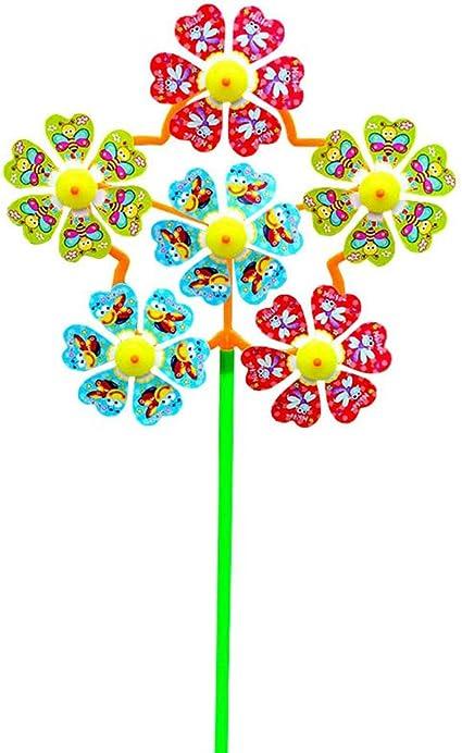 Momangel Flor Creativa Molino De Viento Rotador Molino De Viento ...