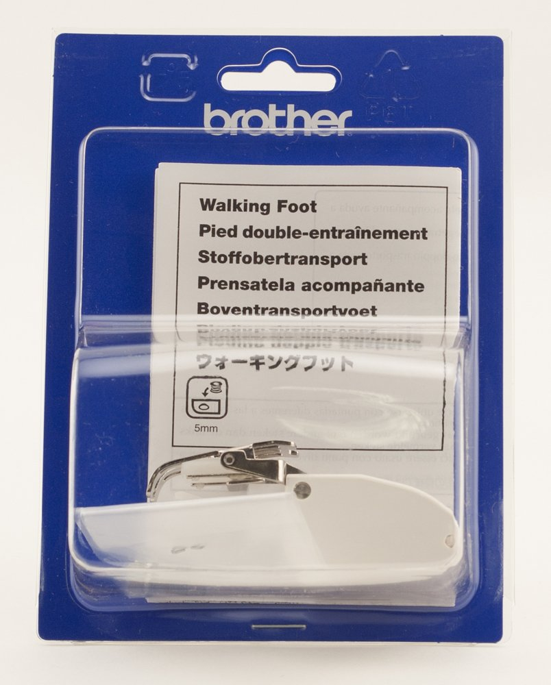 Brother Walking Foot for Quilting and Sewing Multiple Layers, SA107, White by Brother
