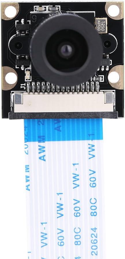 B+ 2B Borlai 5 Megapixel 1080p Camera Module for Raspberry Pi 3 Model B// 4 Model B Wide-Angle Adjustable Night A