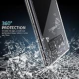 Samsung Galaxy Note 8 Phone Case, LHEI High Crystal Clear Slim Fit Flexible TPU Gel Rubber Soft Silicone Protective Case for Samsung Galaxy Note 8