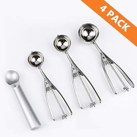 Amazon.com: Aritan - Juego de 4 cucharas anticongelantes de ...