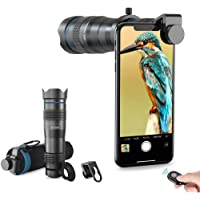 Apexel High Power 28x HD Phone Telephoto Lens with Remote Shutter Works with iPhone X/XR Samsung Pixel Android Any…