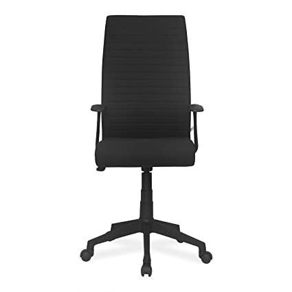 cd95e4251 Nilkamal Thames High-Back Office Chair (Black)  Amazon.in  Home   Kitchen