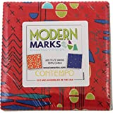 Christa Watson Modern Marks 5X5 Pack 42 5-inch Squares Charm Pack Benartex