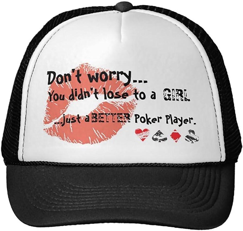 Smity 106 Pokergirl Trucker Hat Black