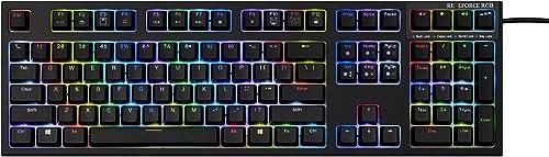 Seasonic Topre REALFORCE108-key RGB Keyboard (Wired)