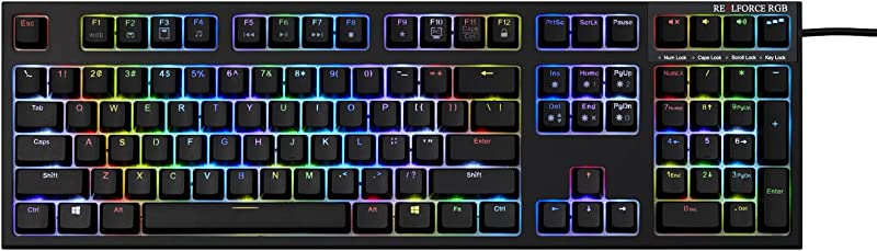Seasonic Topre REALFORCE RGB AEAX01 USB Wired 108-Key Keyboard