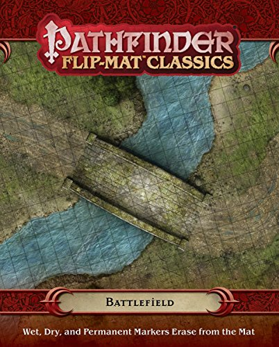 Pathfinder Flip-Mat Classics: Battlefield (Gamemastery Flip Map)