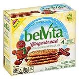 BelVita Breakfast Biscuits Gingerbread 8.8 Ounce (Pack of 3)