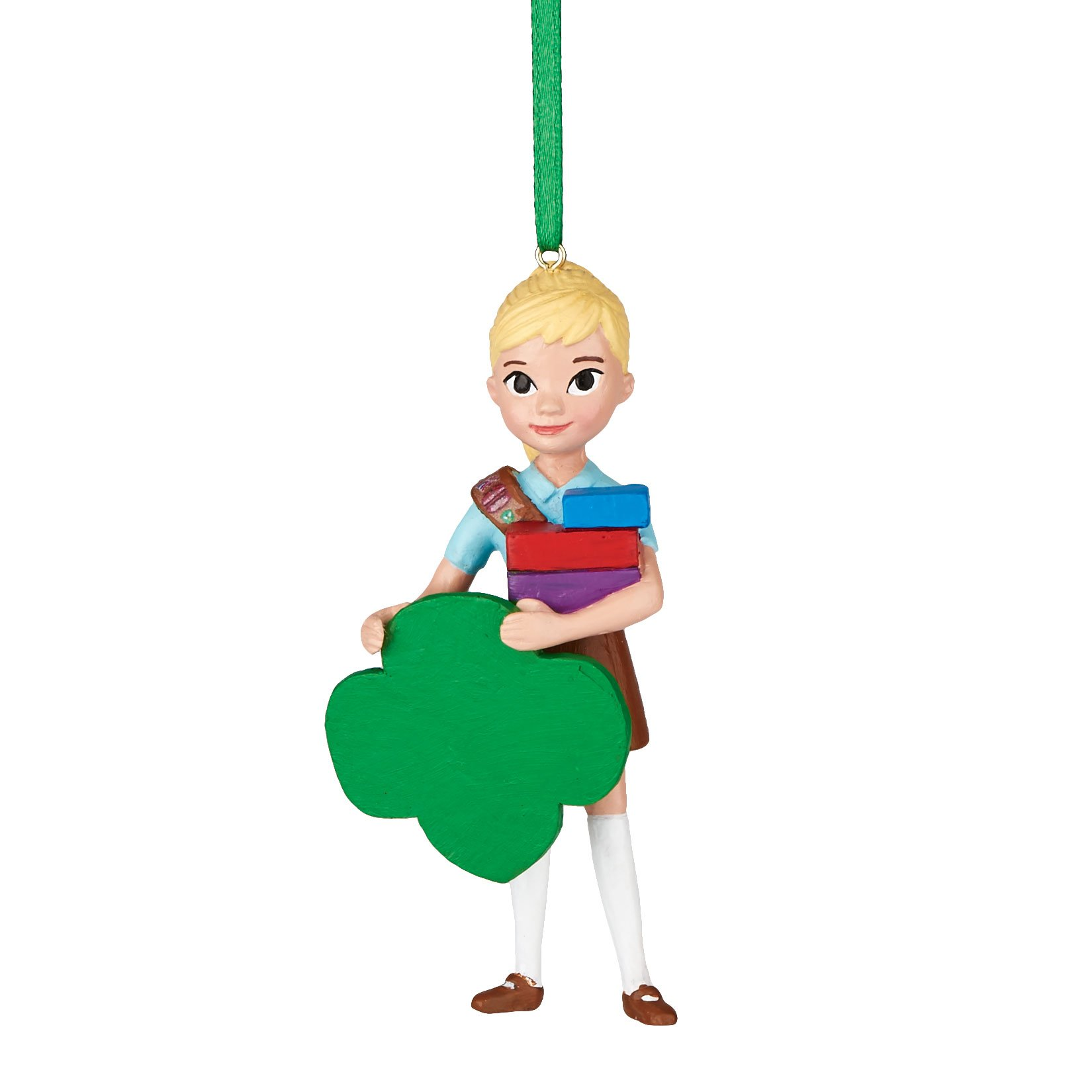 Department 56 Girl Scouts of America Brownie Enterpreneur Ornament, 3.5 inch