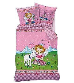 Biber Kinder Bettwäsche Prinzessin Lillifee Motiv Bergkristall 135 X 200 Cm 80 X 80 Cm Neuovp In Flanellqualität