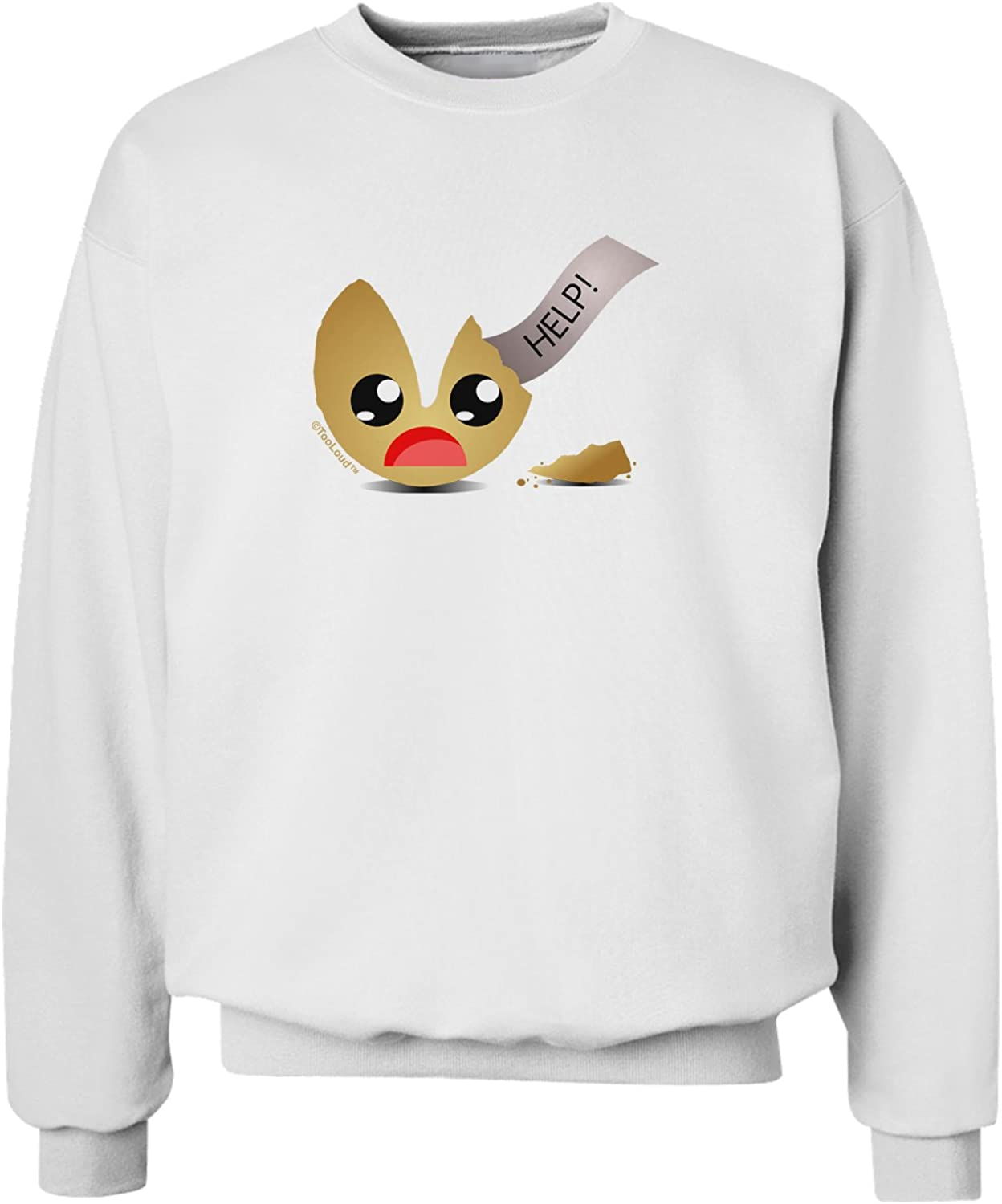 TooLoud Dismembered Fortune Cookie Sweatshirt