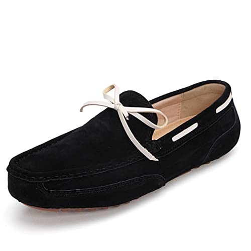 Fashion Mens Loafers Bowknot Design Driving Slip-On Shoe