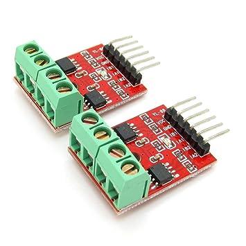 Super Small PCB Board H-Bridge L9110 2 Way Motor Driver Module for Arduino  Pack of 2