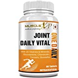 MuscleXP Joint Daily Vital One Daily MultiVitamin with Glucosamine, Chondroitin, Curcumin 95% - 60 Tablets